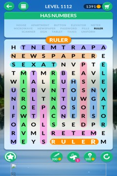 wordscapes search level 1112