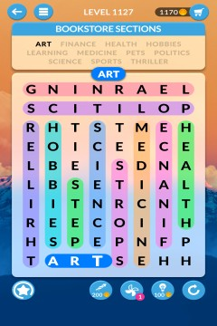 wordscapes search level 1127