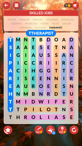wordscapes search level 114