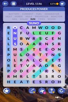 wordscapes search level 1146