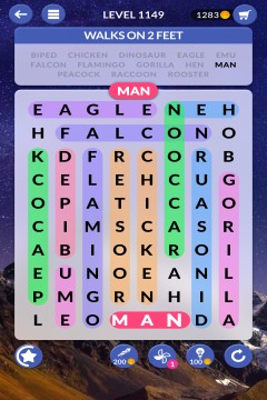 wordscapes search level 1149