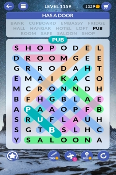 wordscapes search level 1159