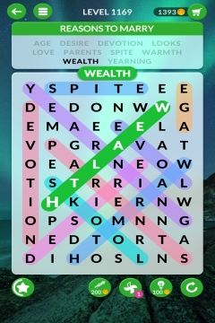 wordscapes search level 1169