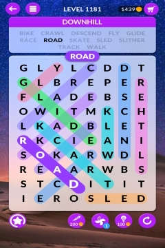 wordscapes search level 1181