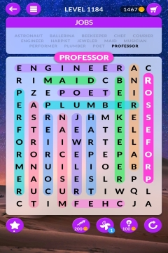wordscapes search level 1184