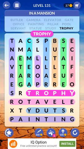 wordscapes search level 131