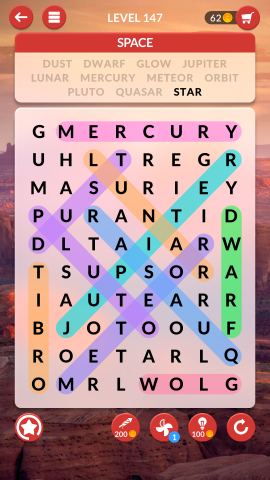 wordscapes search level 147
