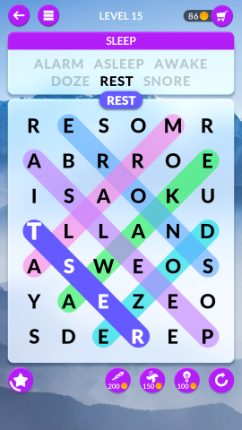 wordscapes search level 15