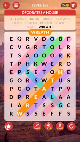 wordscapes search level 155