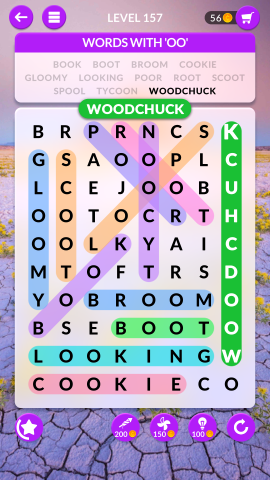 wordscapes search level 157
