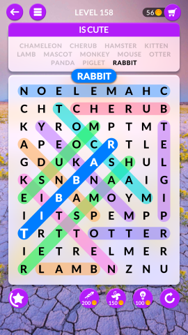 wordscapes search level 158