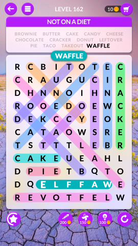 wordscapes search level 162