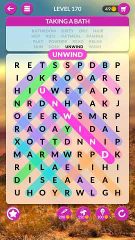 wordscapes search level 170