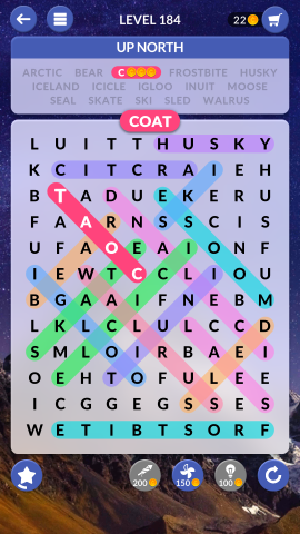 wordscapes search level 184