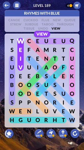 wordscapes search level 189