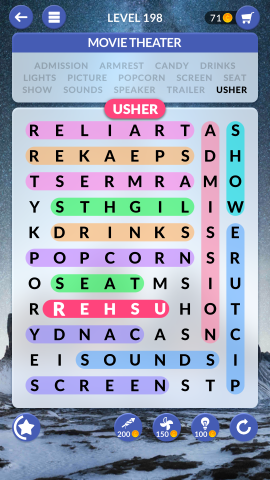 wordscapes search level 198