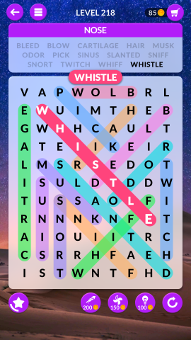 wordscapes search level 218