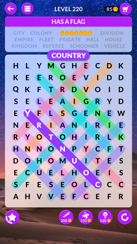 wordscapes search level 220