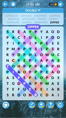 wordscapes search level 240