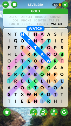 wordscapes search level 250