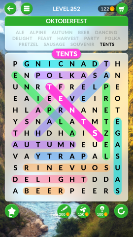 wordscapes search level 252