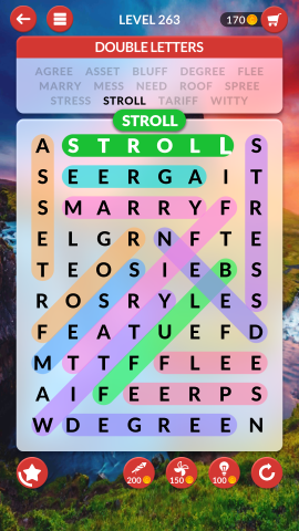 wordscapes search level 263