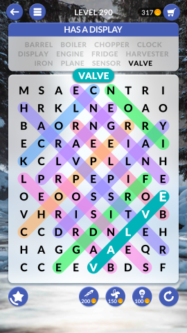 wordscapes search level 290