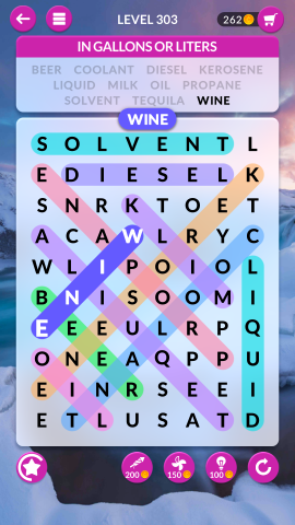 wordscapes search level 303
