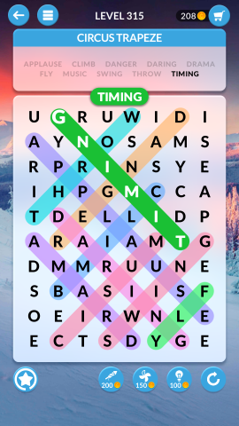 wordscapes search level 315