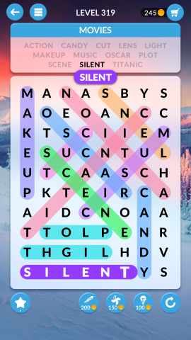 wordscapes search level 319