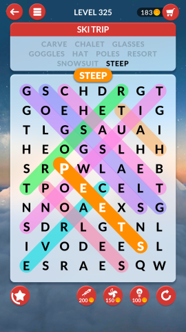 wordscapes search level 325