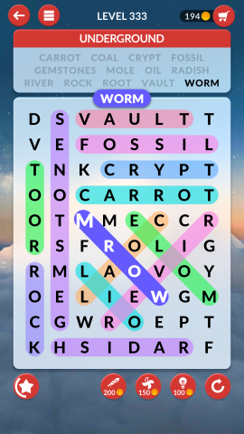 wordscapes search level 333