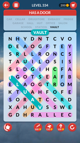 wordscapes search level 334
