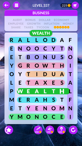 wordscapes search level 337
