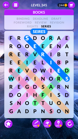 wordscapes search level 345