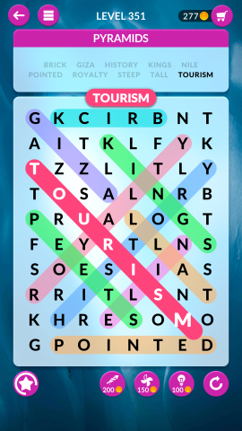 wordscapes search level 351