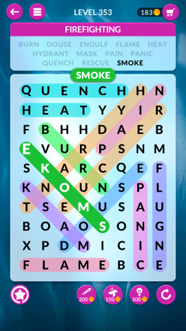 wordscapes search level 353