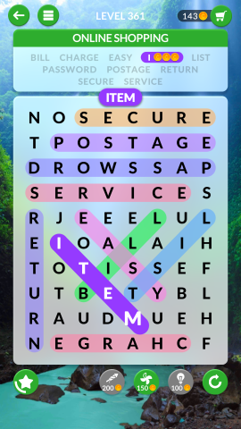 wordscapes search level 361