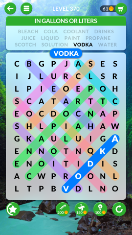 wordscapes search level 370