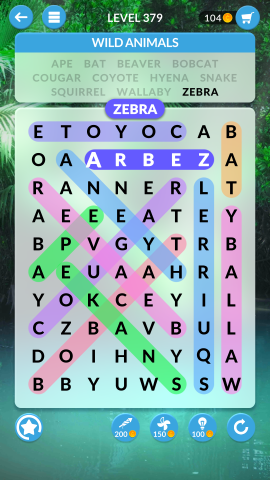 wordscapes search level 379