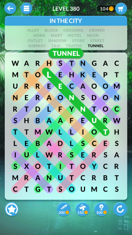 wordscapes search level 380