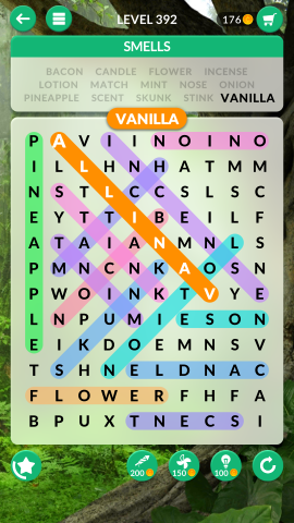 wordscapes search level 392