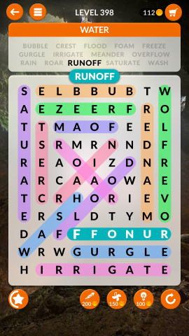 wordscapes search level 398