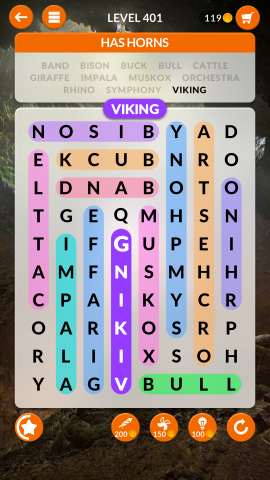 wordscapes search level 401