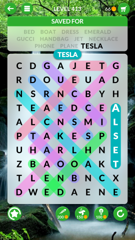 wordscapes search level 413