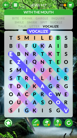 wordscapes search level 417