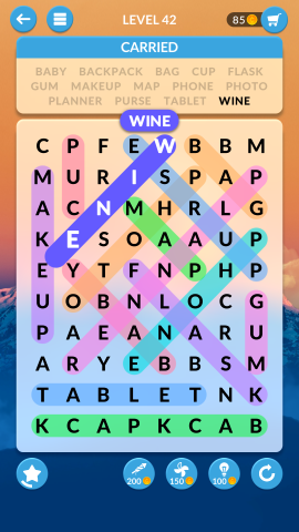 wordscapes search level 42