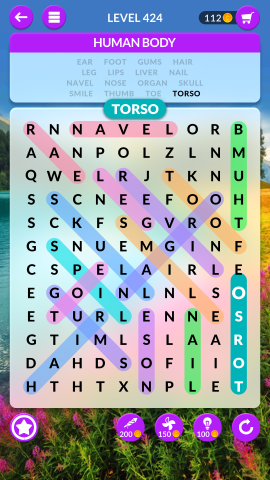 wordscapes search level 424