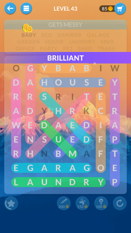 wordscapes search level 43
