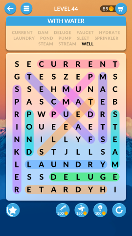 wordscapes search level 44